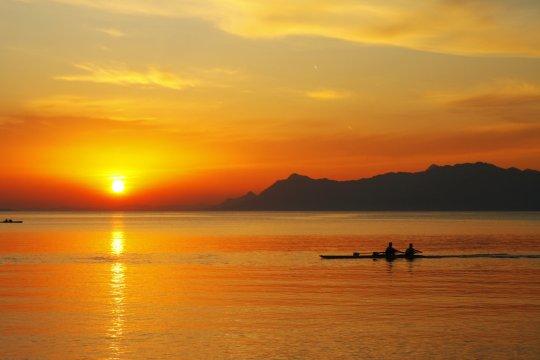 Abends an der Makarska Riviera_2