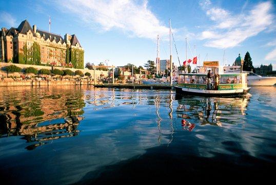 Vancouver Island Victoria Hafen