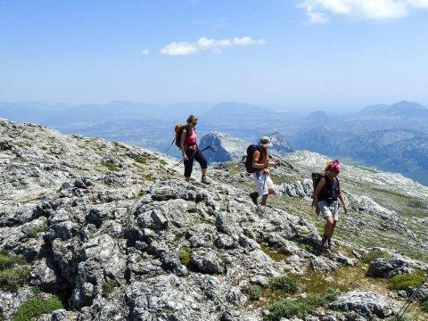 Wanderung am Monte Corrasi