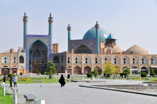 Die große Imam-Moschee von Isfahan