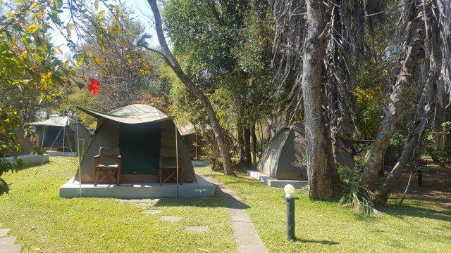 MTB Vic Falls - Kapstadt  Campingplatz