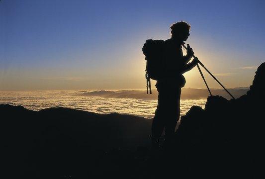 Morgenstimmung auf dem Tongariro Trek