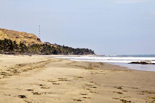 Naturbelassene Strand