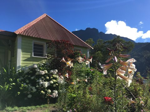 Kreolisches Haus im Talkessel von Mafate