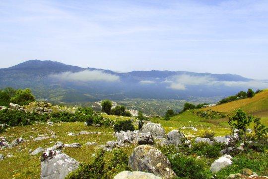 Rif Gebirge Aussicht bei Chefchaouen