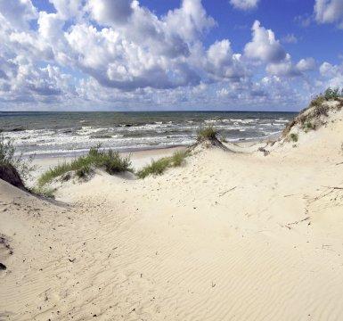 Litauen Kurische Nehrung Strand Duene_2