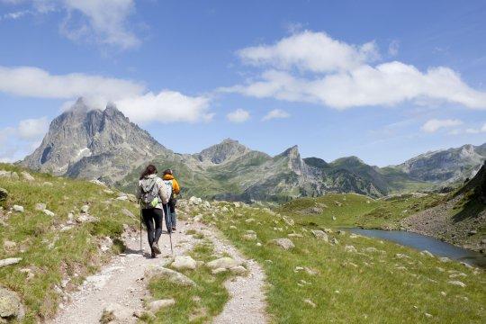 Wanderung in den Pyrenäen