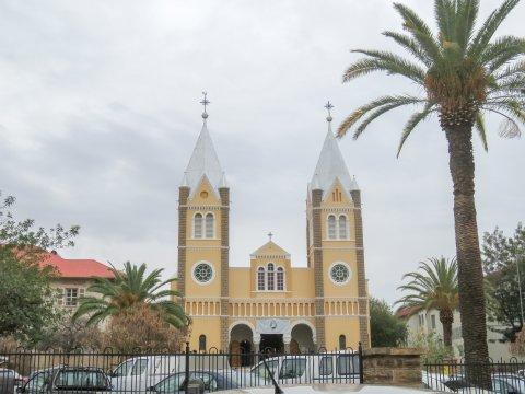 Namibia-Windhoek-Sightseeing-Namibia-Kirche