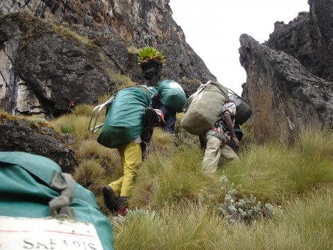 Kamweti Route Mt Kenya