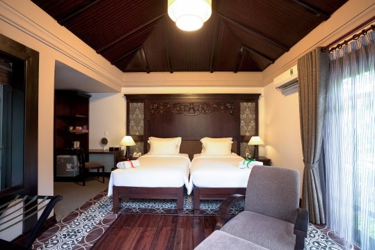 Anja Resort Zimmerbeispiel Deluxe Villa mit Terrasse 2