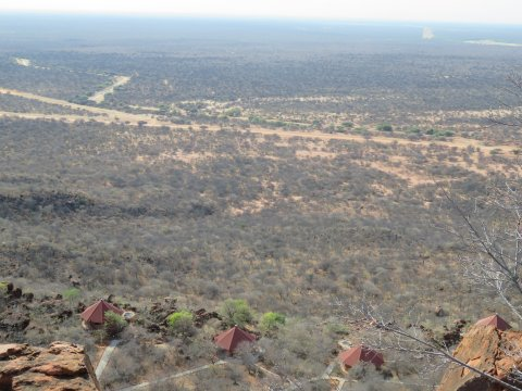 Namibia-Blick-vom-Waterberg-Plateau