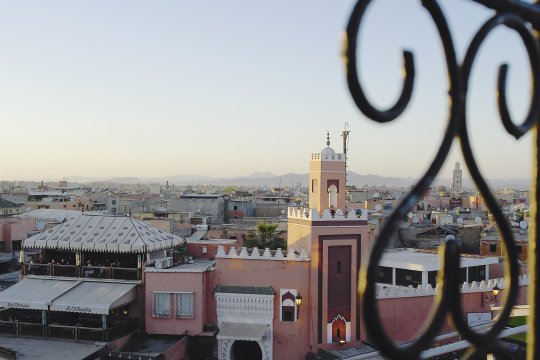 Abendstimmung_in_Marrakech 2