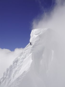 Klettern am Alpamayo_2