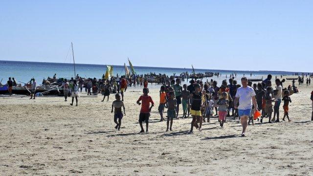 Am Strand von Ifaty