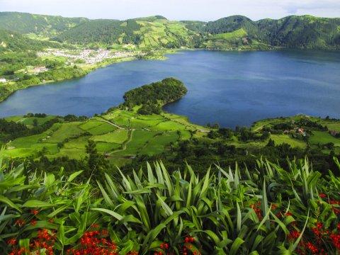 Kratersee von Sete Cidades