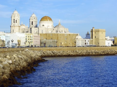 Ufer von Cádiz