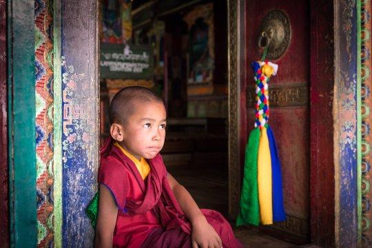 Lamayuru- kleiner Mönch