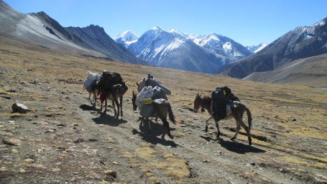 Nepal-Blick-zur-Annapurna