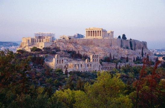 Aussicht auf Acropolis