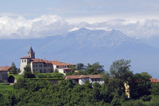 Cissone mit Alpenpanorama