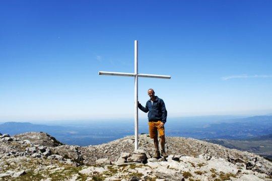 Auf dem Gipfel der Dinara
