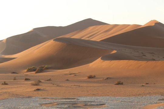 Namibia-Dünen-Sossusvlei-Sonnenaufgang