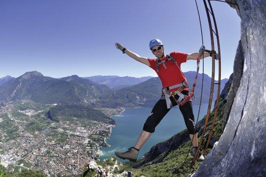 Klettersteig Italien : Italien top klettersteige am gardasee bergsteigen