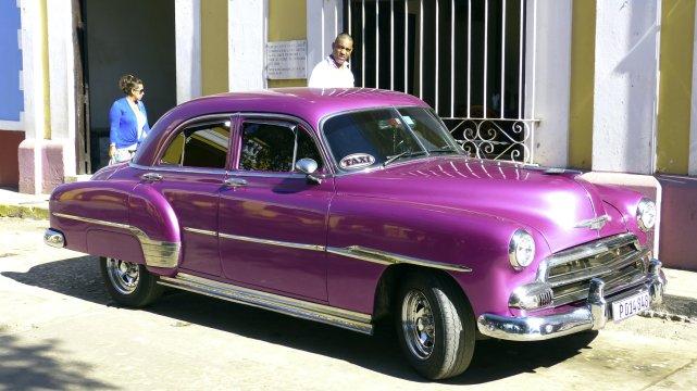 Kuba Trinidad Taxi