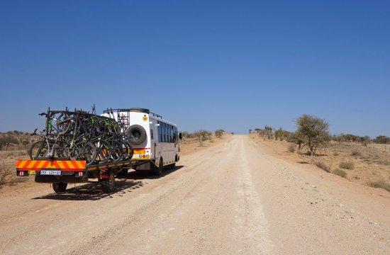 MTB Vic Falls - Kapstadt  Begleitfahrzeug