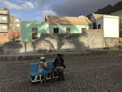 Santo Antao - Dorfgespräch
