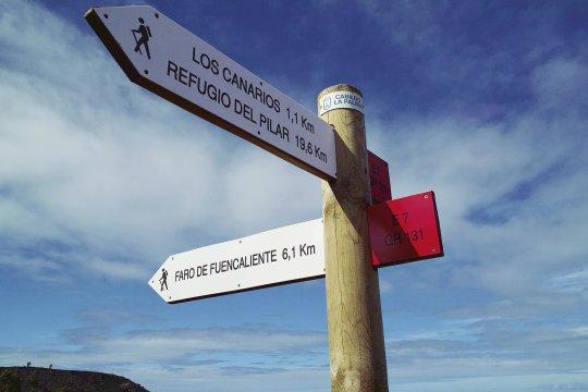 Wegweiser La Palma