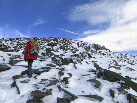 Gipfeltour auf den Mulhacén