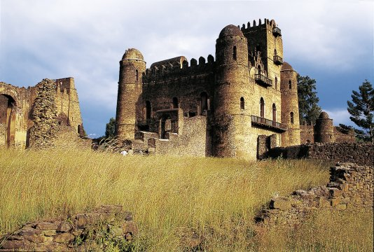 Burg in Gondar 2