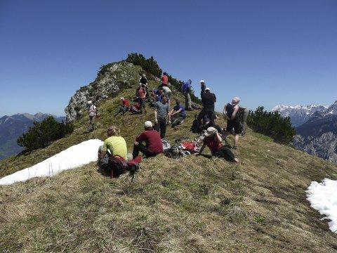 Grundkurs Klettersteig 2