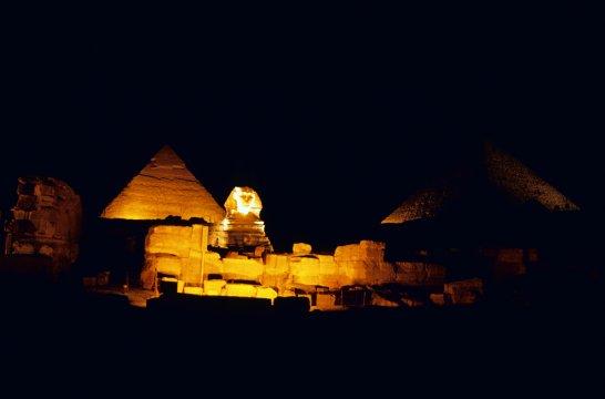 Ägypten - Cheops-Pyramide in Kairo