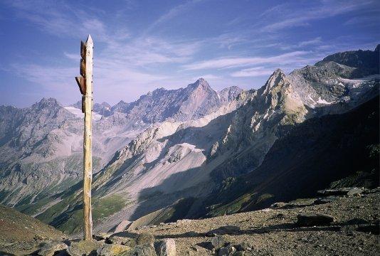 Ortlerdurchquerung, Passo del Zebru und die westlichen Ausläufer der Ortlermassivs