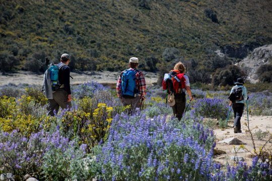 Peru Trekking Wandergruppe