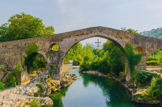 Römische Brücke in Cangas de Onis