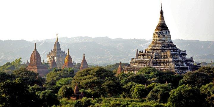 Blick auf North Guni Pagode Bagan