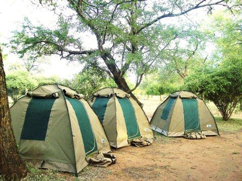Hauser ZAK 23 Hlane campsite