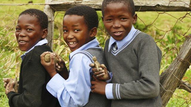 Kinder auf dem Schulweg_2
