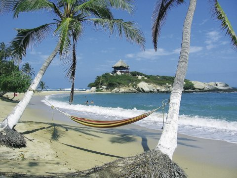 Traumstrand im Tayrona Nationalpark