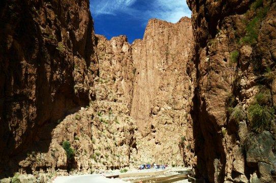 Marokko Todra Schlucht