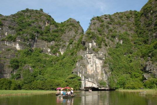 Ruderboot Tam Coc