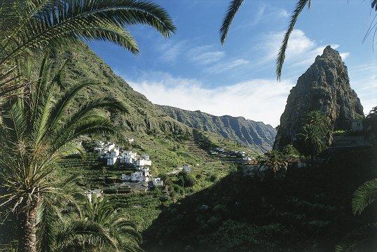 Tal auf La Gomera