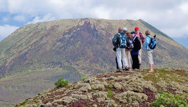 Wanderung La Corona - Famara