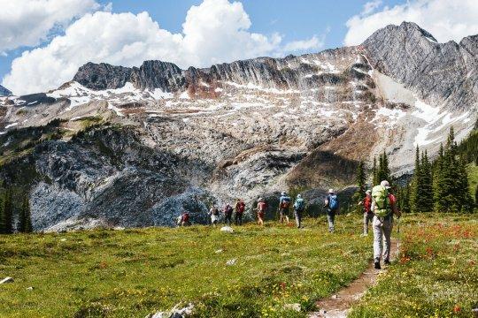 Sentinel Pass  Wandergruppe_2