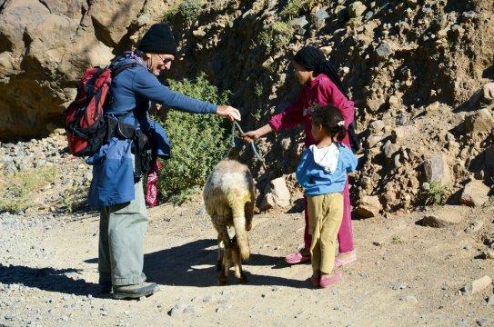 Begegnung mit Nomaden im Hohen Atlas 2