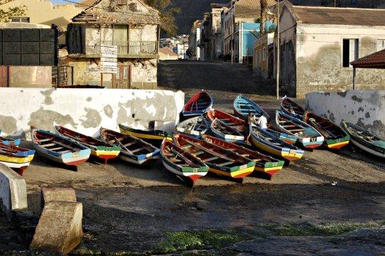 Santo Antao Ponta do Sol Fischerboote