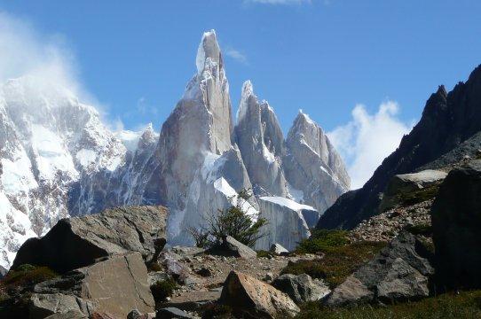 Toller Blick auf den Cerro Torre